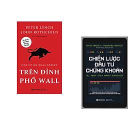 Combo 2 cuốn sách: Trên Đỉnh Phố Wall  + Chiến Lược Đầu Tư Chứng Khoán