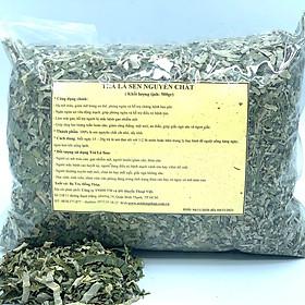 Trà lá sen nguyên chất Bịch 500gam