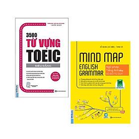 Combo Cẩm Nang Học Tiếng Anh: 3500 Từ Vựng Toeic - Siêu Đẳng (Tái Bản 2020) + Mindmap English Grammar - Ngữ Pháp Tiếng Anh Bằng Sơ Đồ Tư Duy / Bí Quyết Học Nhanh Nhớ Lâu