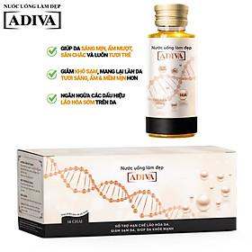 Nước uống làm đẹp Collagen Adiva (14 lọ x30ml/ Hộp )