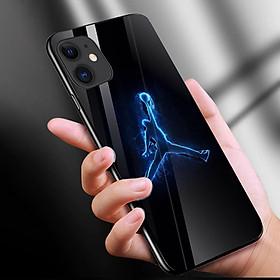 Ốp kính cường lực cho điện thoại iPhone 11 - Jordan 23 MS JD23D011