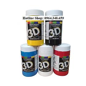 Combo 5 Màu vẽ Acrylic 3D 300ml