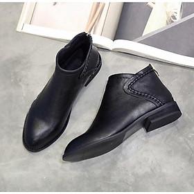 Giày lười nữ đế dày phong cách Anh Quốc