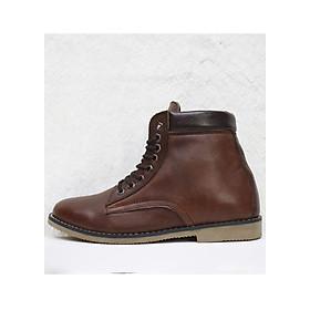 Giày Boot da bò thật cao cấp B06