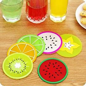 Lót cốc đa năng silicon hình hoa quả Fruit F158SP1