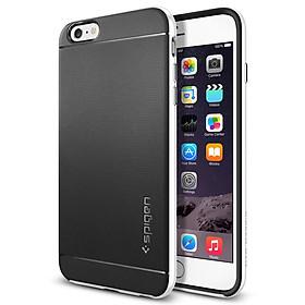 Ốp Lưng iPhone 6s Plus / 6 Plus Spigen Neo Hybrid - Đen Viền Trắng