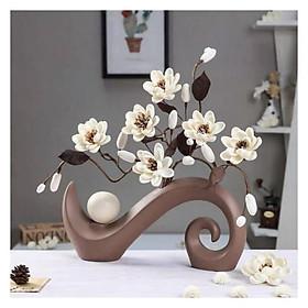 Cành hoa gốm sứ để bàn Love House decor GHS-6247
