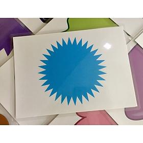 Color Flashcards - Thẻ học tiếng Anh chủ đề màu sắc - 20 cards