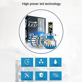 2PCS/Set Car LED Headlights H1 / H4 / H7 / 9005 Bright White Replacement LED Bulbs
