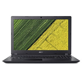 Laptop Acer Aspire 3 A315-54-57PJ/ Core i5-8265U(1.60 GHz/6MB)/ 4GBRAM/256GBSSD/ Intel UHD Graphics/ 15.6FHD/ Webcam/ Wlan ac+BT/ 3cell/ Win 10 Home/ Đen (Shale Black)/ 1Y WTY_NX.HEFSV.004 - Hàng Chính Hãng