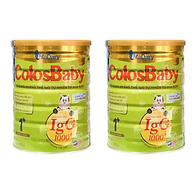 Combo 2 hộp Sữa Bột VitaDairy ColosBaby Gold 1+ (800g)