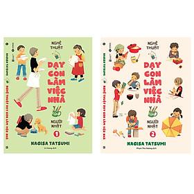 Bộ sách Nghệ thuật dạy con làm việc nhà của người Nhật tặng sổ tay
