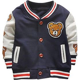 Children Jackets Kids Baseball Sweatshirt New Spring Autumn Baby Outwear Boys Coat Children Girls Clothes 1-4Y