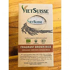 Gạo lức hữu cơ 100% Organic Vietsuisse 1kg