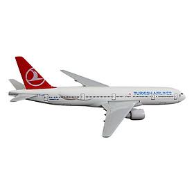 Mô Hình Máy Bay Trưng Bày Boeing 777 Turkish Airlines Everfly (Trắng)