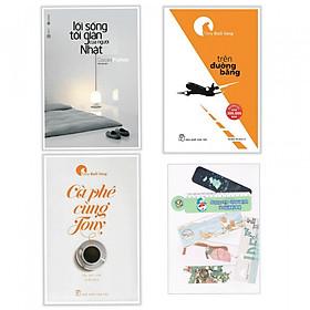 Combo Sách Lối Sống Tối Giản Người Nhật, Trên Đường Băng và Cà Phê Cùng Tony - Tặng kèm bookmark PĐ