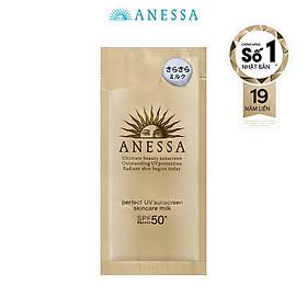 Sữa chống nắng dưỡng da bảo vệ hoàn hảo Anessa 4ml