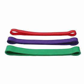 Combo 3 Dây kháng lực Power Band, Dây kháng lực tập gym, tập chân, mông - Phụ kiện tập chân mông dây cao su tập gym cao cấp (SP054)