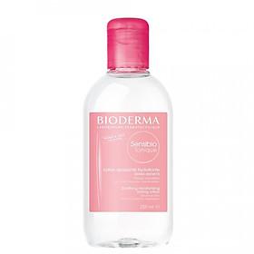 Nước hoa hồng dưỡng ẩm dành cho da nhạy cảm BIODERMA Sensibio Tonique 250ml