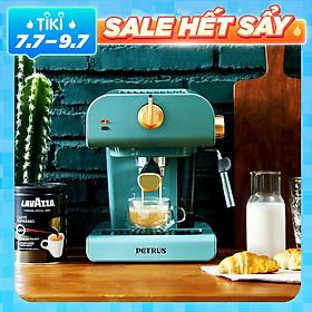 Máy pha cà phê espresso bán tự động Xiaomi Youpin Petrus PE3320 20bar với hơi nước, bọt sữa