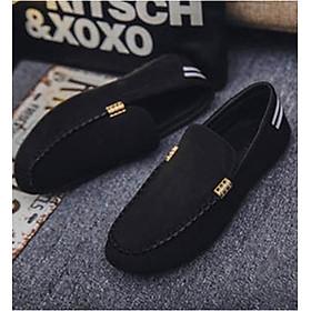 Giày Lười Nam Cao Cấp Phong Cách Hàn Quốc Phong Cách - Màu Đen SV05