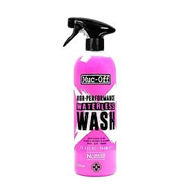 Chất tẩy rửa không cần nước Muc Off Waterless Wash 750ml cho Xe đạp, Xe máy và Ô tô