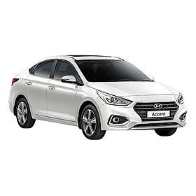 Xe ô tô Hyundai Accent 1.4 MT base - Trắng