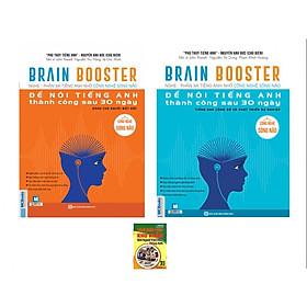Combo BrainBooster - Nghe Và Phản Xạ Tiếng Anh Nhờ Công Nghệ Sóng Não (Tặng Sách Cách Khắc Phục Khó Khăn Khi Người Việt Học Tiếng Anh)