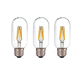 Bộ 3 bóng đèn Led Edison T45 4W đui E27.