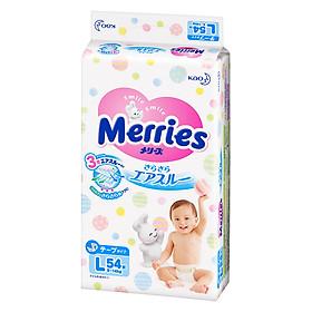 Tã Dán Merries L 54 (54 Miếng)-0