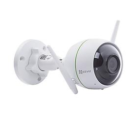Camera wifi chống trộm EZVIZ C3WN 2MP FullHD 1080p Model CS-CV310-A0-1C2WFR chuẩn chống nước IP66 sử dụng được ngoài trời, tính năng khoanh vùng theo dõi cảnh báo chuyển động và gửi tin nhắn đến điện thoại bằng phần mềm Ezviz - Hàng chính hãng