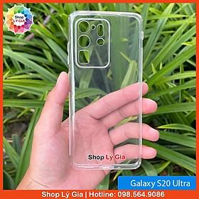 Ốp lưng trong suốt thế hệ mới cho Samsung Galaxy Note 20 / 10 / 8 / 9 / S21 / S20