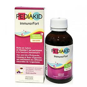 Siro Pediakid Immuno của Pháp, tăng đề kháng cho trẻ (125ml)