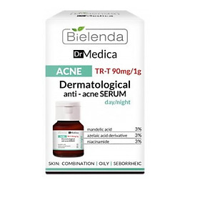 Tinh chất Bielenda Dr Medica Dermatological Anti Acne Face Serum Day Night 30ml