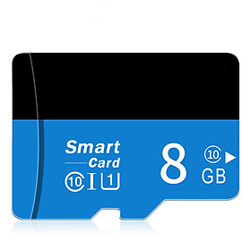 Blue Black Micro SD TF Card Flash Drive Memory Microsd Card 8 16 32 64 128 GB for Smartphone Adapter