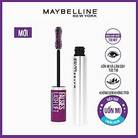 Mascara Uốn, Làm Dày và Dài Mi Tức Thì Maybelline Falsies Lash Lift không lem không trôi Waterproof 8.6ml