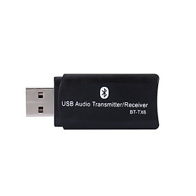 BT-TX6 2 in 1 BT 5.0 Audio Receiver Transmitter Wireless Mini Adapter Stereo Music Transceiver AUX RCA USB 3.5mm Jack