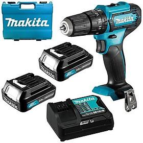 Máy khoan búa và vặn vít dùng pin(12v max) Makita HP333DSAE
