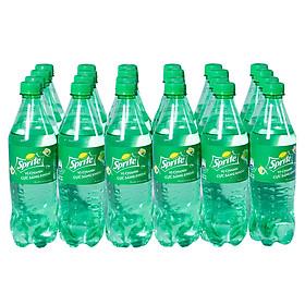 Lốc 24 Chai Nước Giải Khát Có Gas Sprite (600ml / Chai)