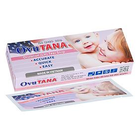Combo 6 que thử rụng trứng Ovutana