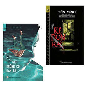 [Download Sách] Combo 2 Cuốn Truyện Trinh Thám Hay Kinh Điển: Kẻ Dọn Rác (Tái Bản) + Một Thế Giới Không Có Đàn Bà / Tặng Bookmark Happy Life