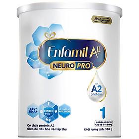 Sữa bột Enfamil A2 Neuropro 1 cho trẻ từ 0 - 6 tháng tuổi – 350g