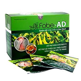 Giảm nhanh trào ngược dạ dày, ợ nóng, hỗ trợ viêm loét dạ dày Fobe-AD- Hộp 20 gói.