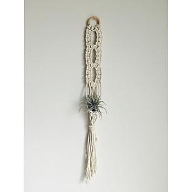 dây treo cây không khí macrame handmade