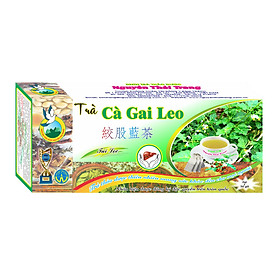 Trà Cà Gai Leo  (Hộp 50 Túi Lọc X 2g)- Nguyên Thái Trang – Thảo Dược Thiên Nhiên – Tốt Cho Sức Khỏe