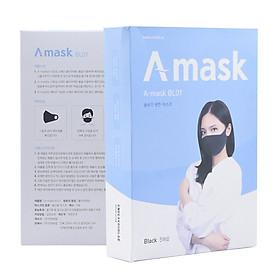 Hộp 5 Chiếc Khẩu Trang A-Mask 3D Hàn Quốc - Kháng Khuẩn - Lọc Bụi Mịn - Tái Sử Dụng