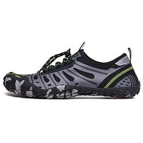 Giày đi nước chống trơn trượt, nhẹ, thoáng, phù hợp đi du lich, leo núi, thân thiện với môi trường, chịu nước tốt và nhanh khô (SA053-G)-3