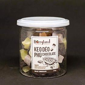 Kẹo dẻo phủ Chocolate BerryLand
