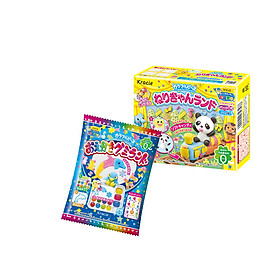 Combo 2 hộp kẹo popin cookin đồ chơi ăn được gồm: thế giới sắc màu + làm kem/ diệu kỳ