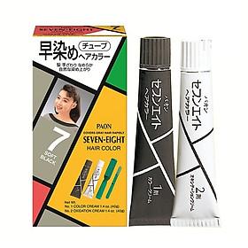 Nhuộm phủ bạc SEVEN EIGHT Hair Color (40g + 40g) Nhật Bản